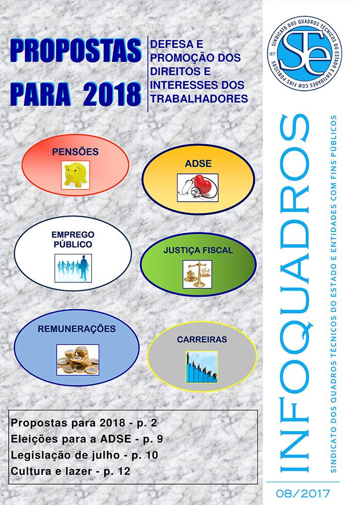 Infoquadros Agosto 2017