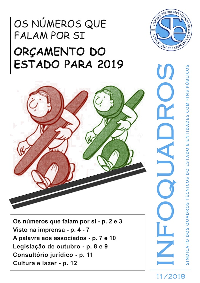 InfoQuadros Novembro 2018