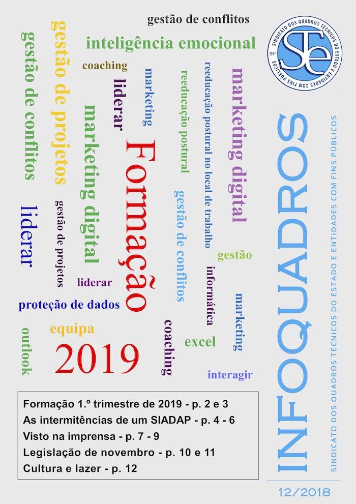InfoQuadros Dezembro 2018