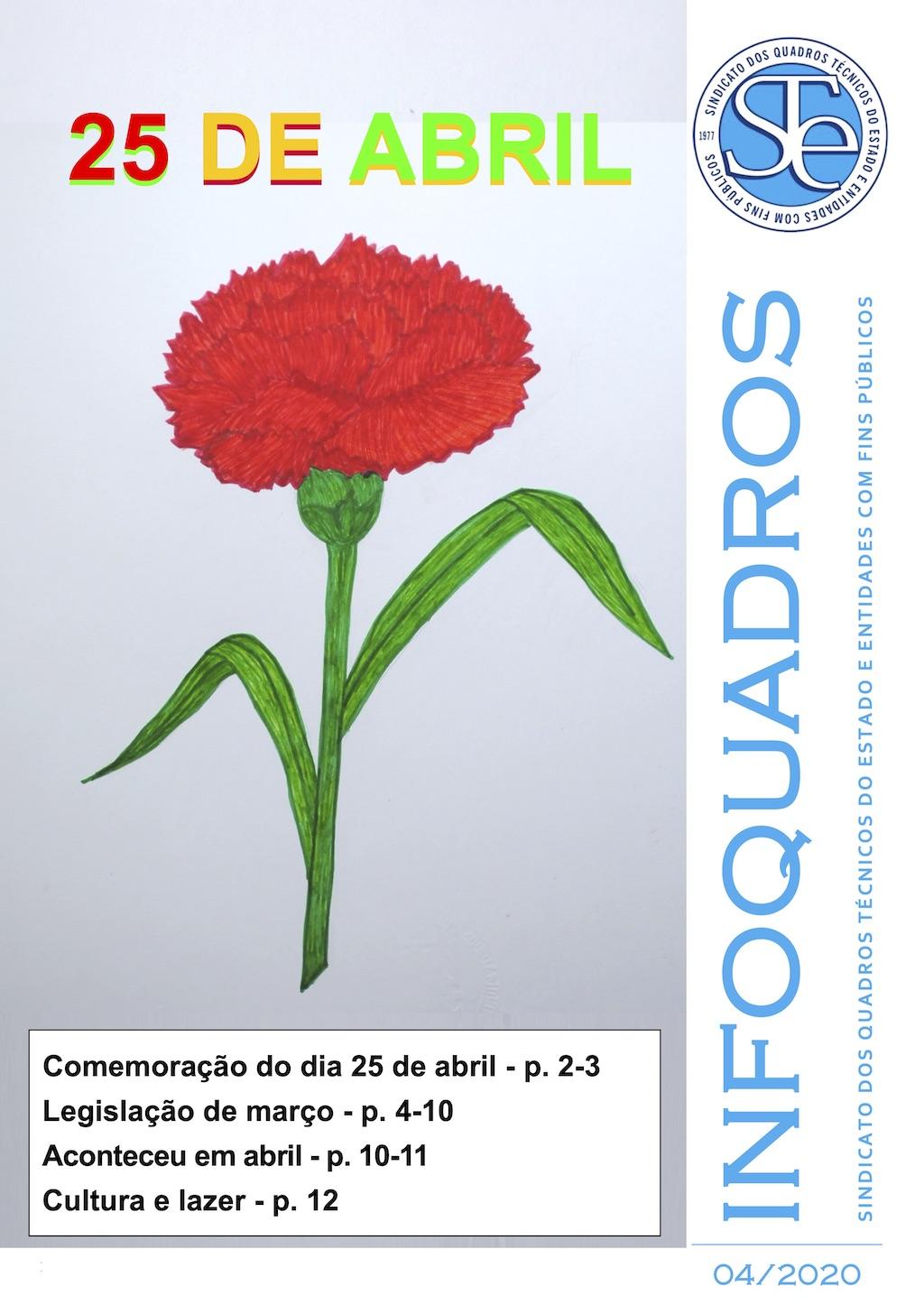 InfoQuadros Abril 2020