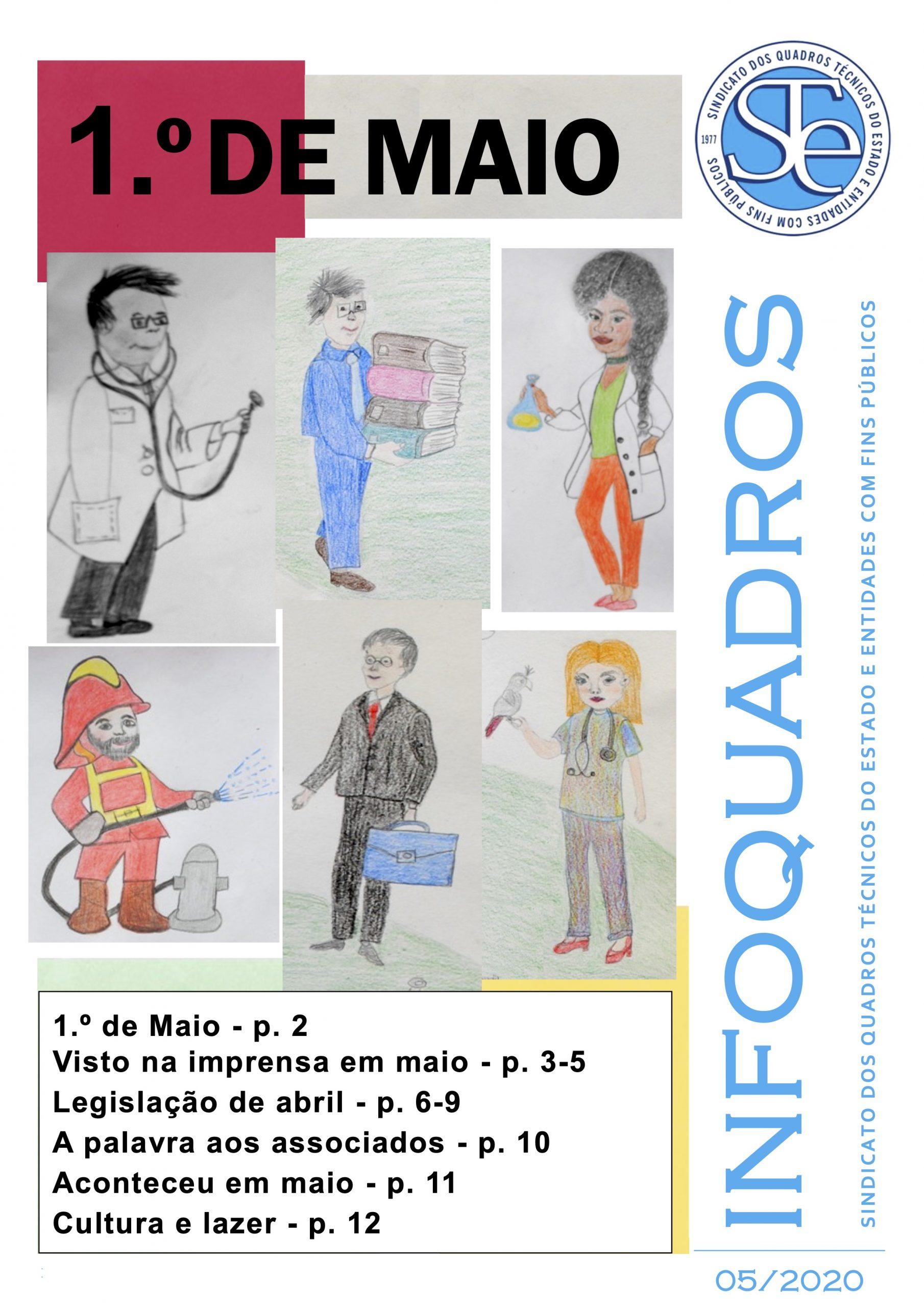 InfoQuadros Maio 2020