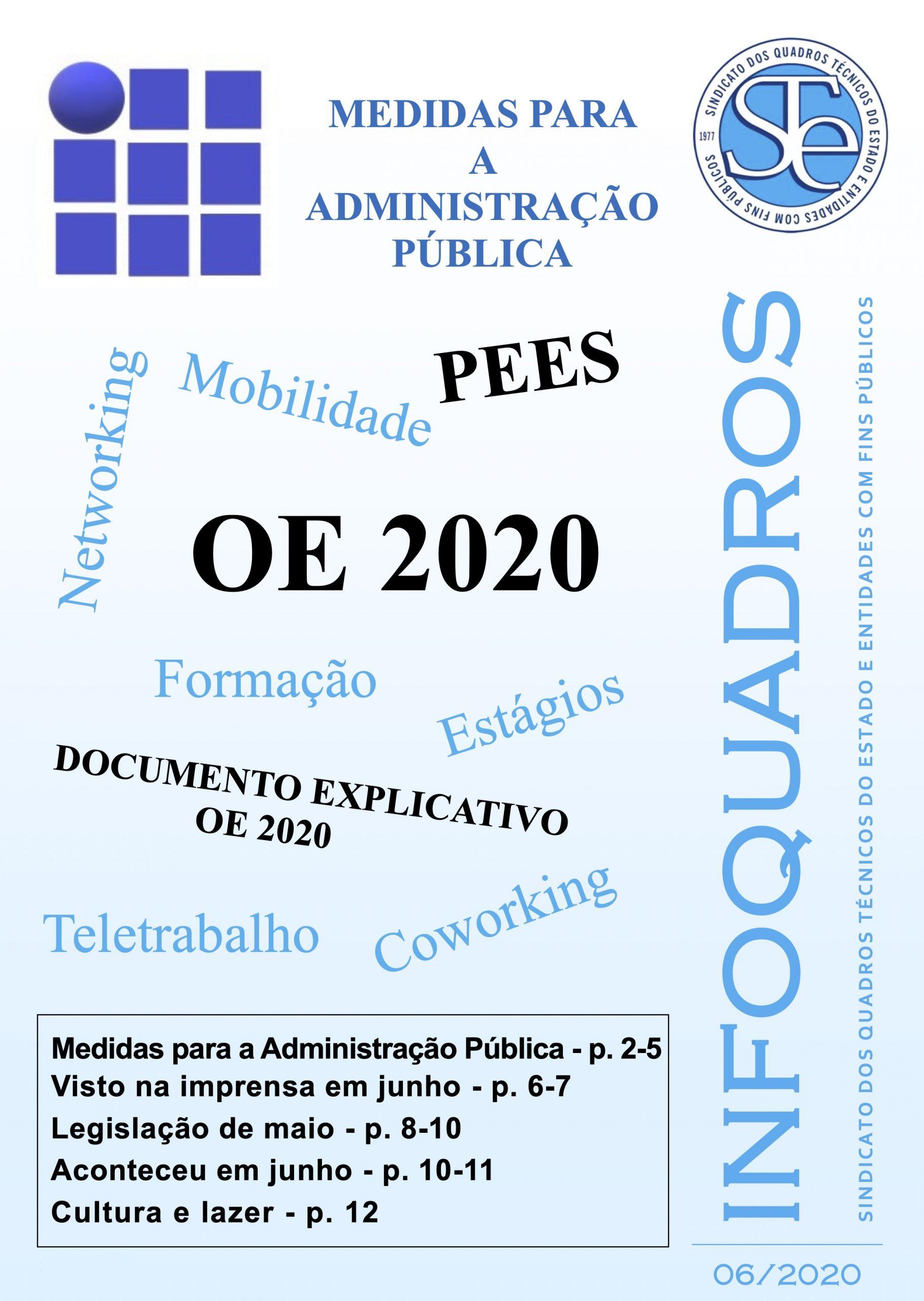 InfoQuadros Junho 2020
