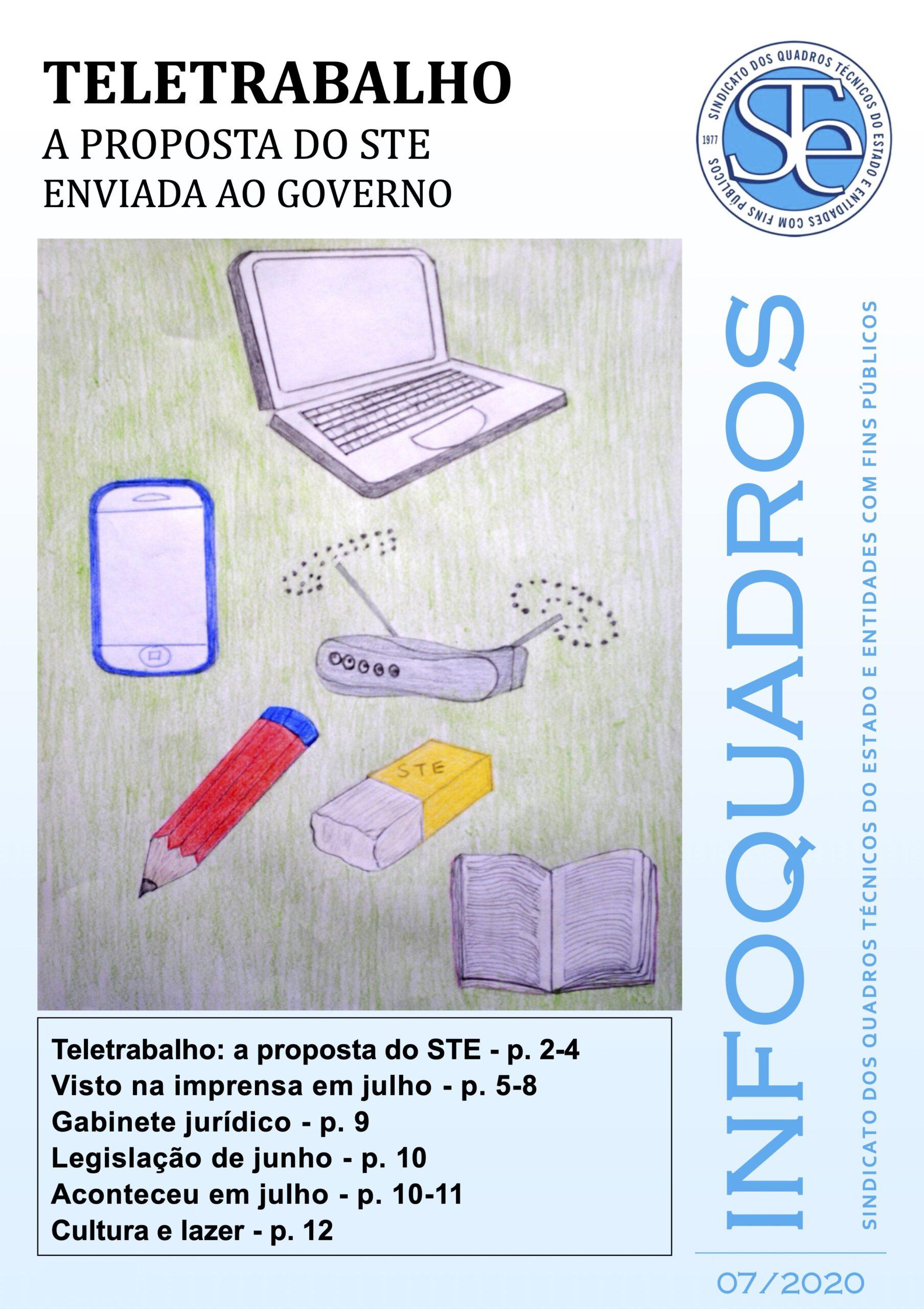 InfoQuadros Julho 2020