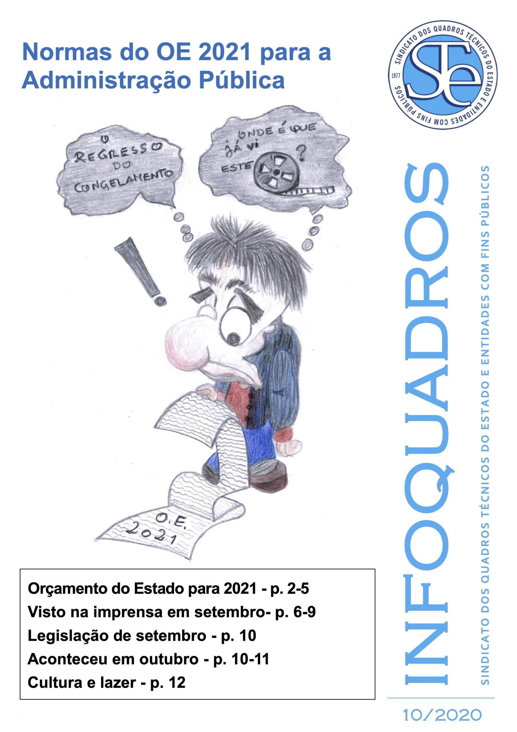 InfoQuadros Outubro 2020