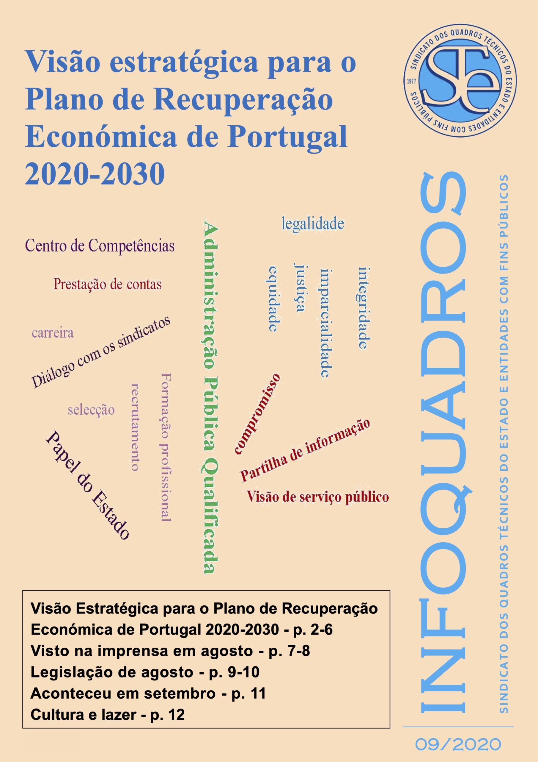 InfoQuadros Setembro 2020