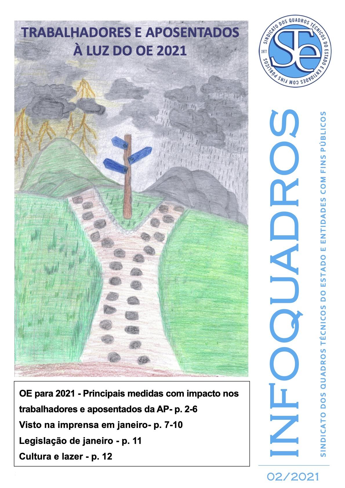 InfoQuadros Fevereiro