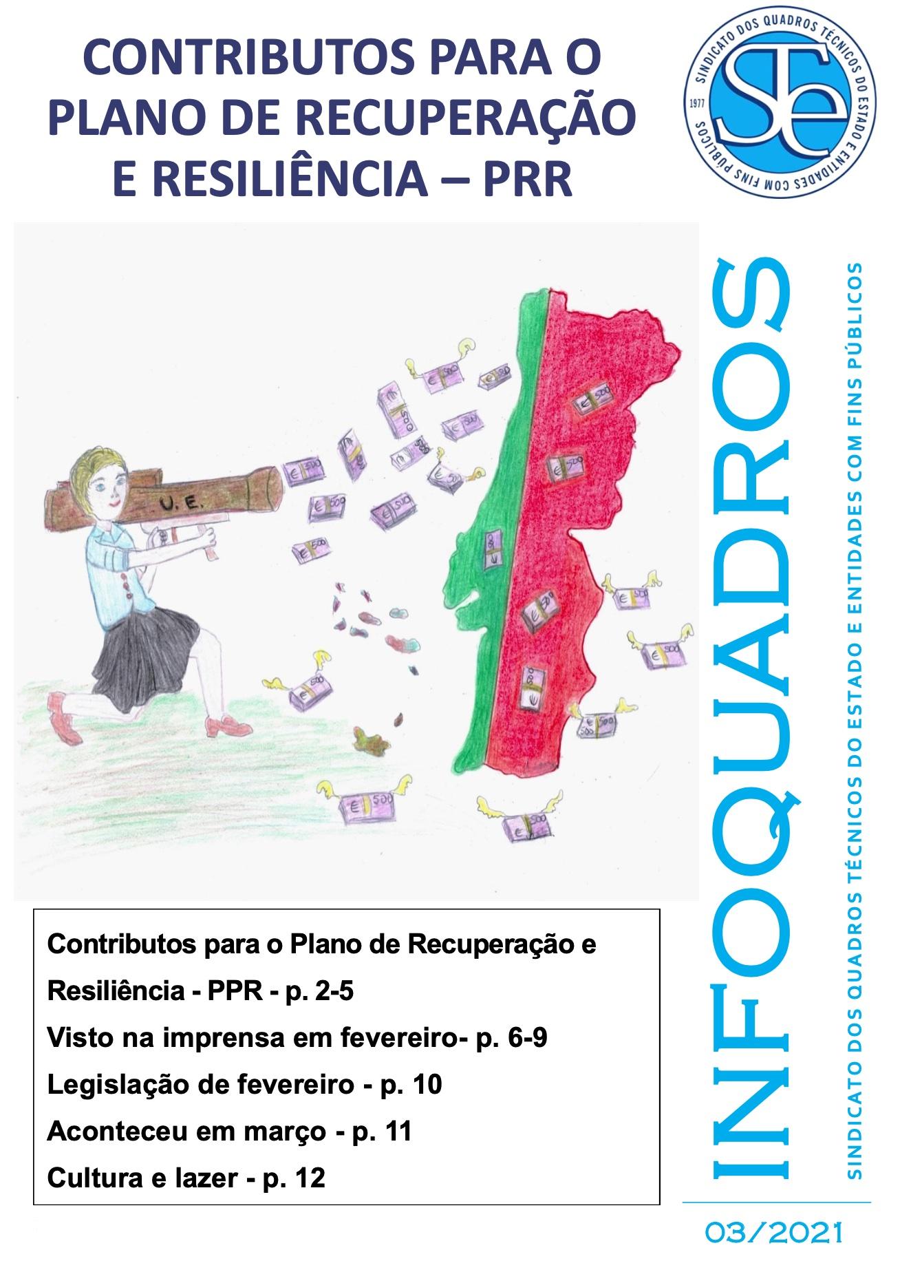 InfoQuadros Março de 2021