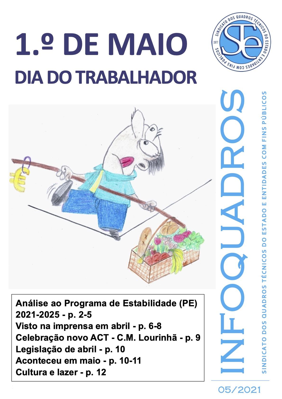 InfoQuadros Maio 2021